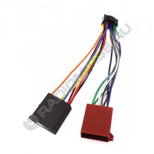 Разъём - переходник JVC 3,21 KD-LX 3R - ISO (CPE03-140)