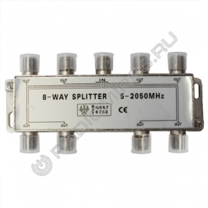 Краб(splitter) на 8TV  (5-2050MHz)