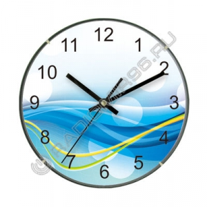 """Часы настенные IRIT IR-630 """"ВОЛНЫ"""""""