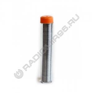 Припой с канифолью ПОС-60 15мм 0,8мм КОЛБА (9-403)