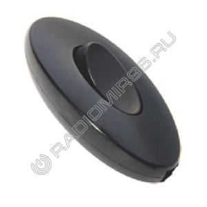 Выключатель на шнур Makel чёрный 10064
