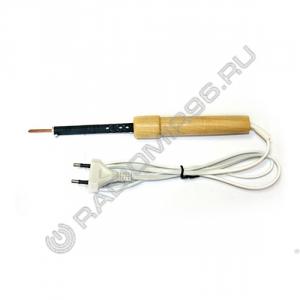 Паяльник ЭПЦН 25W/220V деревянная ручка