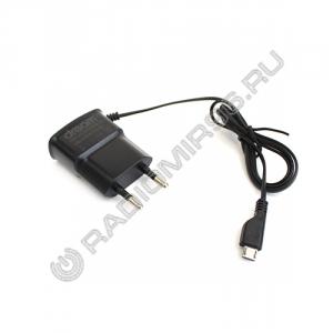 Зарядное устройство сетевое MICRO USB 0.7A 5W