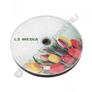 Диск DVD+R VIDEX LS-MEDIA Bulk ТЮЛЬПАН + конверт