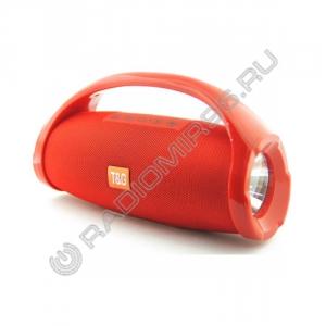 Портативная Bluetooth колонка TG136 КРАСНЫЙ