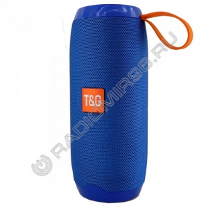 Портативная Bluetooth колонка TG106 СИНИЙ
