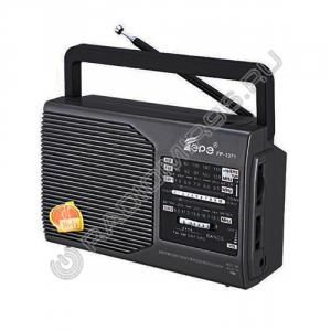 Радиоприемник FEPE FP-1371 ЧЁРНЫЙ