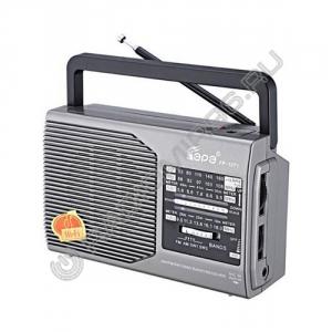 Радиоприемник FEPE FP-1371 СЕРЫЙ
