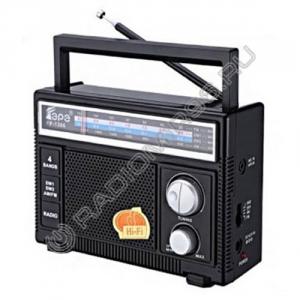 Радиоприемник FEPE FP-1366 ЧЁРНЫЙ
