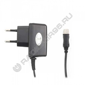 Зарядное устройство сетевое MINI USB 0.75A