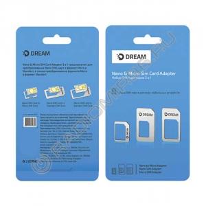 Адаптер сим-карт 3 в 1 (нано, микро, стандарт)