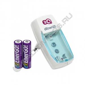 Зарядное устройство EnerGO C23-9 (аккумуляторы 2шт. R03 в комплекте)