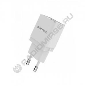 Зарядное устройство сетевое BOROFONE BA19A 1USB