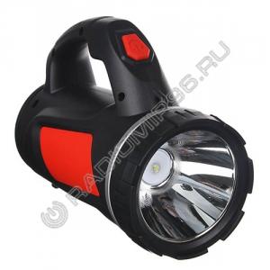 Фонарь 1 LED+1COB 223-040 Чингисхан ПРОЖЕКТОР аккумуляторный