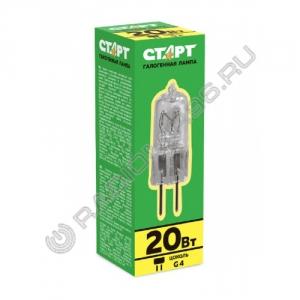 Лампа СТАРТ JC 12V 20W G4