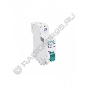 Автоматический выключатель DEKraft 1P 16A C BA-101 C16 4,5кА 11054