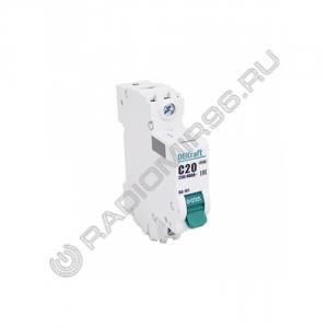 Автоматический выключатель DEKraft 1P 20A C BA-101 C20 4,5кА 11055