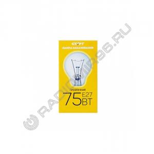 Лампа накаливания СТАРТ 75Вт Е27