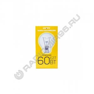 Лампа накаливания СТАРТ 60Вт Е27