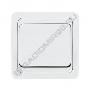 Выключатель ЛОНДОН 1 клавиша 10A скрытой установки EEV10-021-10