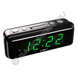 Часы VST-738 DARK GREEN электронные