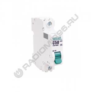 Автоматический выключатель DEKraft 1P 50A C BA-101 C50 4,5кА 11059