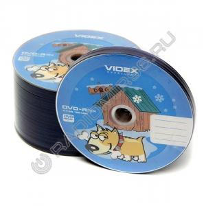 Диск DVD-R VIDEX Bulk Собака + конверт
