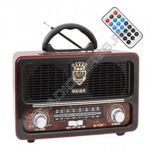 Радиоприемник MEIER M-111BT ЧЁРНЫЙ
