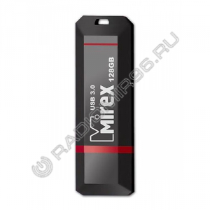 USB 3.0 флэш-накопитель MIREX 128GB KNIGHT BLACK