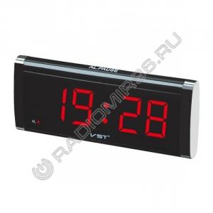 Часы VST-730 КРАСНЫЙ электронные